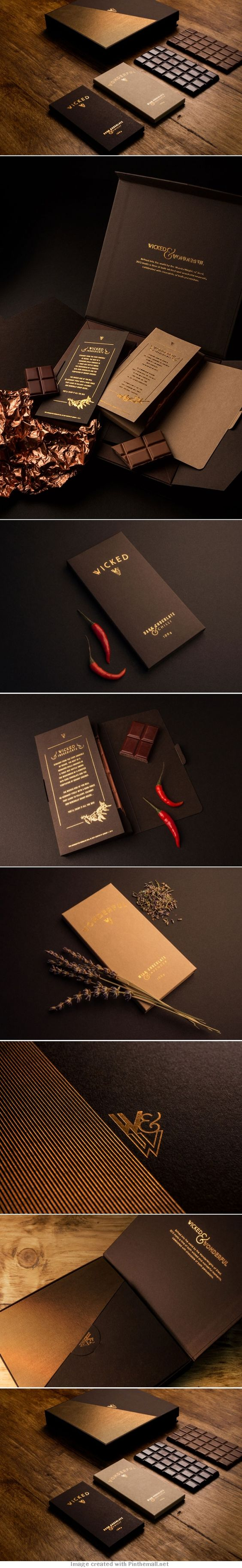 Packaging cioccolato esclusivo