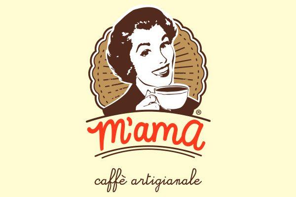 m'ama caffè logo