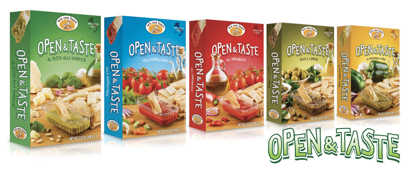 packaging alimentare Open and Taste Solo Cose Buone