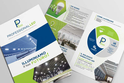 brochure aziendale professional led