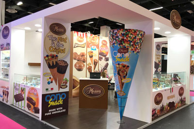 grafica stand ism 2018