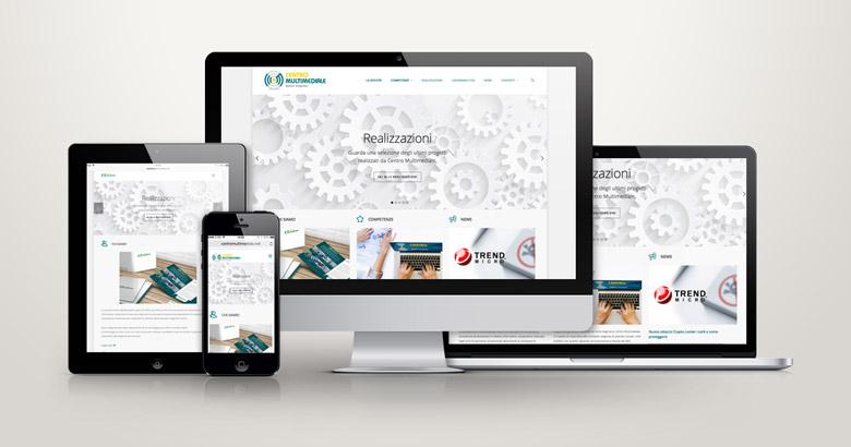 sito web centro multimediale