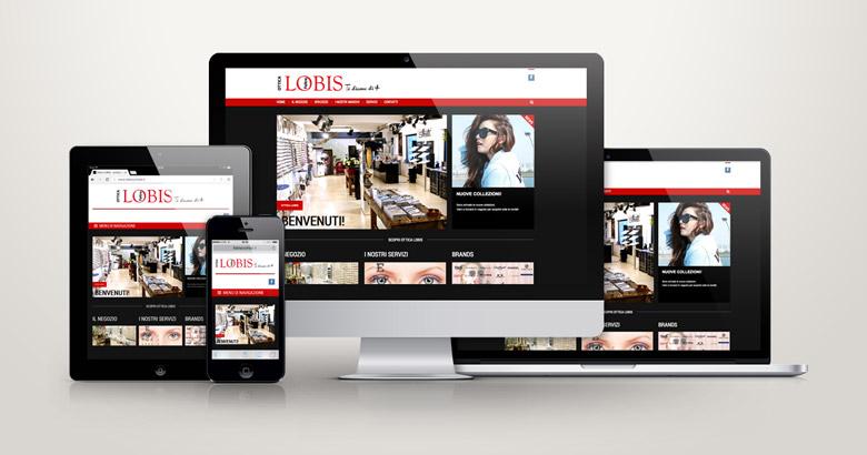 sito web ottica
