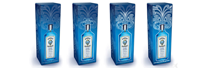Packaging Bombay Sapphire Electro