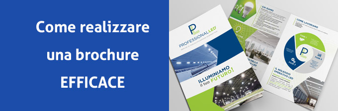Come realizzare una brochure efficace