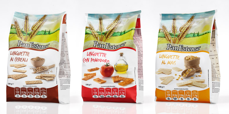 panestense linguette packaging buste