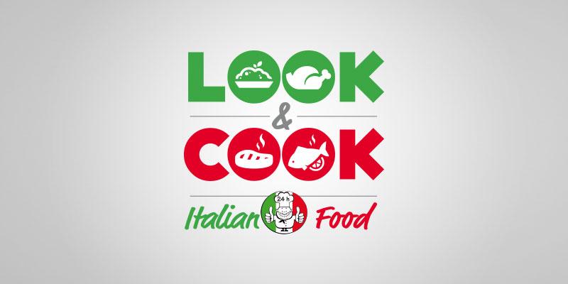 Logo e sito web distributore automatico look cook for Logo sito web